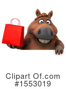Brown Horse Clipart #1553019 by Julos