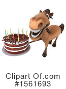 Brown Horse Clipart #1561693 -  , 118