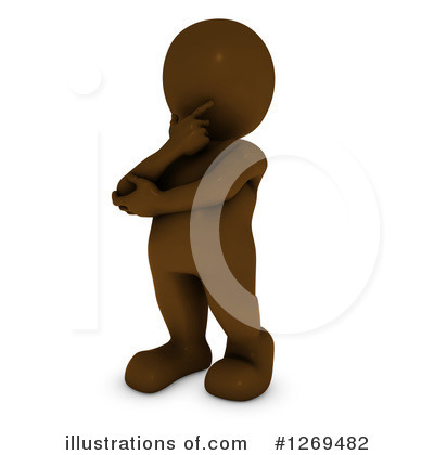 Brown Man Clipart #1269482 by KJ Pargeter