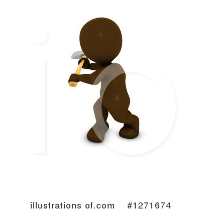 Brown Man Clipart #1271674 by KJ Pargeter