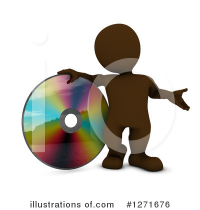 Dvd Clipart #1271676 by KJ Pargeter