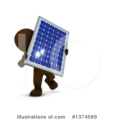 Solar Panel Clipart #1374589 by KJ Pargeter