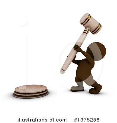 Gavel Clipart #1375258 by KJ Pargeter