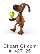 Brown Pooch Character Clipart #1427125 by Julos