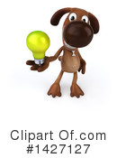 Brown Pooch Character Clipart #1427127 by Julos