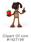 Brown Pooch Character Clipart #1427196 by Julos