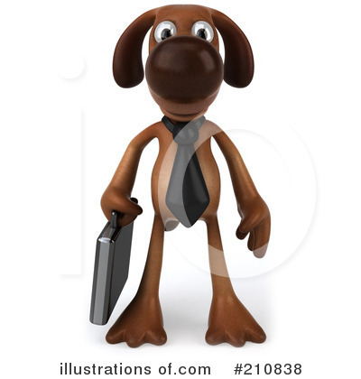 Doggy Character Clipart #210838 by Julos