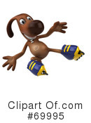 Brown Pooch Character Clipart #69995 by Julos