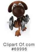 Brown Pooch Character Clipart #69996 by Julos
