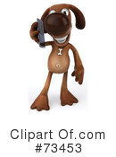 Brown Pooch Character Clipart #73453 by Julos
