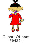 Brushing Teeth Clipart #94294 by Pams Clipart