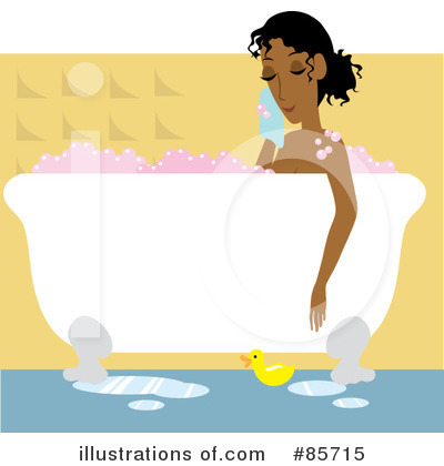 Black Woman Clipart #85715 by Rosie Piter