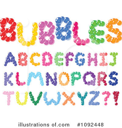 Letters Clipart #1092448 by yayayoyo