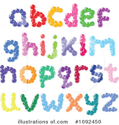 Letters Clipart #1092450 by yayayoyo