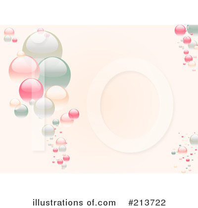 Royalty-Free (RF) Bubbles Clipart Illustration by Elaine Barker - Stock Sample #213722