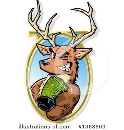 Bills Clipart #1363600 by Clip Art Mascots