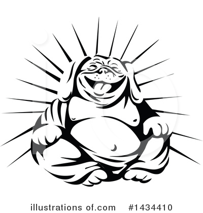 Bulldog Clipart #1434410 by patrimonio