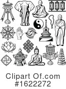 Buddhism Clipart #1622272 by Vector Tradition SM