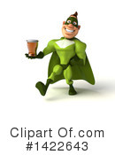 Buff Green Super Hero Clipart #1422643 by Julos