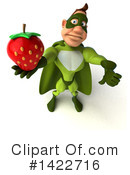 Buff Green Super Hero Clipart #1422716 by Julos