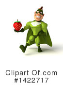 Buff Green Super Hero Clipart #1422717 by Julos