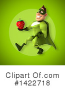 Buff Green Super Hero Clipart #1422718 by Julos