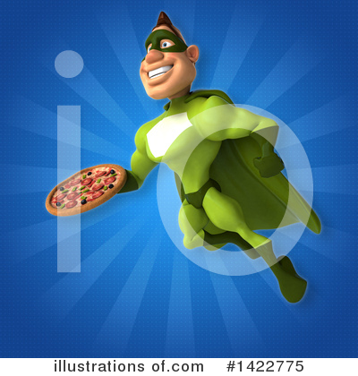 Buff Green Super Hero Clipart #1422775 by Julos