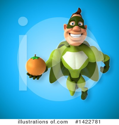 Buff Green Super Hero Clipart #1422781 by Julos