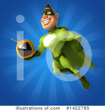 Buff Green Super Hero Clipart #1422785 by Julos
