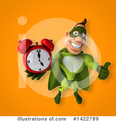 Buff Green Super Hero Clipart #1422789 by Julos