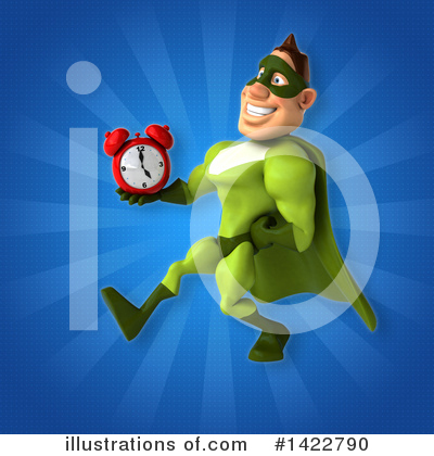 Buff Green Super Hero Clipart #1422790 by Julos