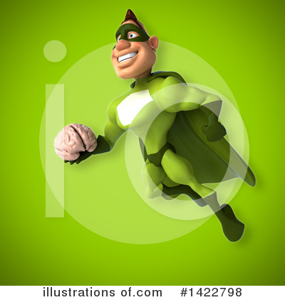 Buff Green Super Hero Clipart #1422798 by Julos