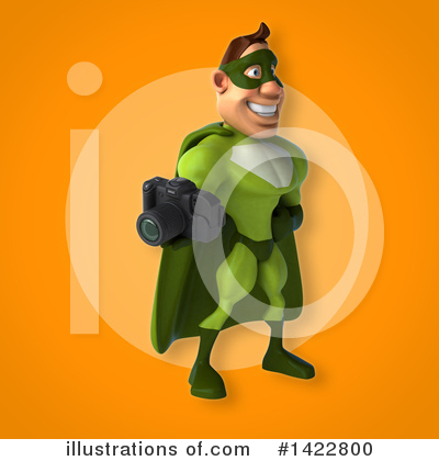 Buff Green Super Hero Clipart #1422800 by Julos