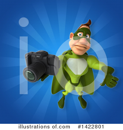 Buff Green Super Hero Clipart #1422801 by Julos