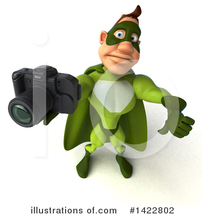 Buff Green Super Hero Clipart #1422802 by Julos