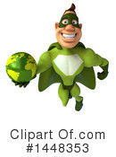 Buff Green Super Hero Clipart #1448353 by Julos