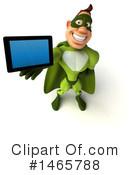 Buff Green Super Hero Clipart #1465788 by Julos