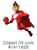 Buff Red Super Hero Clipart #1411625 by Julos