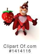 Buff Red Super Hero Clipart #1414116 by Julos