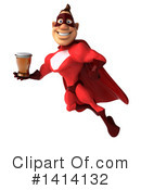 Buff Red Super Hero Clipart #1414132 by Julos