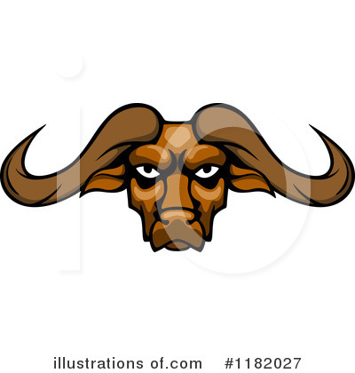Bull Clipart #1182027 by Vector Tradition SM