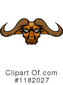 Buffalo Clipart #1182027 by Vector Tradition SM