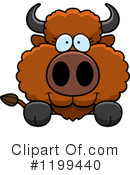 Buffalo Clipart #1199440 by Cory Thoman