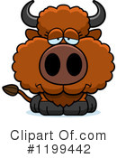 Buffalo Clipart #1199442 by Cory Thoman