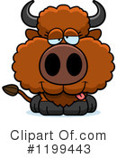 Buffalo Clipart #1199443 by Cory Thoman