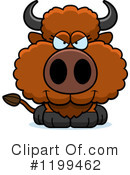 Buffalo Clipart #1199462 by Cory Thoman