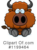 Buffalo Clipart #1199464 by Cory Thoman