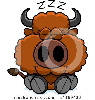 Royalty-Free (RF) Buffalo Clipart Illustration by Cory Thoman - Stock Sample #1199466