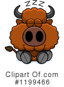 Buffalo Clipart #1199466 by Cory Thoman