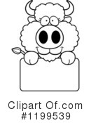 Buffalo Clipart #1199539 by Cory Thoman